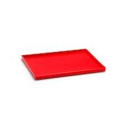 Red Medium Slim Tray,Red,hi-res