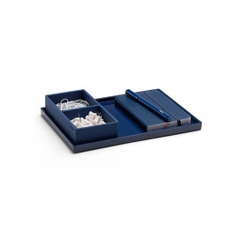 Navy Medium Slim Tray