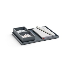 Dark Gray Medium Slim Tray