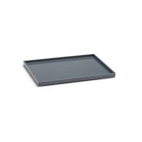 Dark Gray Medium Slim Tray,Dark Gray,hi-res