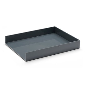 Dark Gray Single Letter Tray