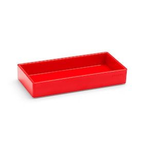 Red Small Accessory Tray