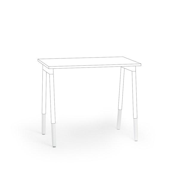 Series A Leg Extenders, Set of 2, White,,hi-res
