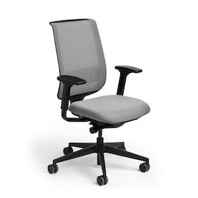 Reply Task Chair, Adjustable Arms, Adjustable Lumbar