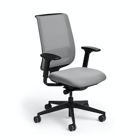 Reply Task Chair, Adjustable Arms, Adjustable Lumbar