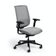 Gray Reply Task Chair, Adjustable Arms, Adjustable Lumbar,Gray,hi-res