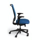 Blue Reply Task Chair, Adjustable Arms, Adjustable Lumbar,Blue,hi-res