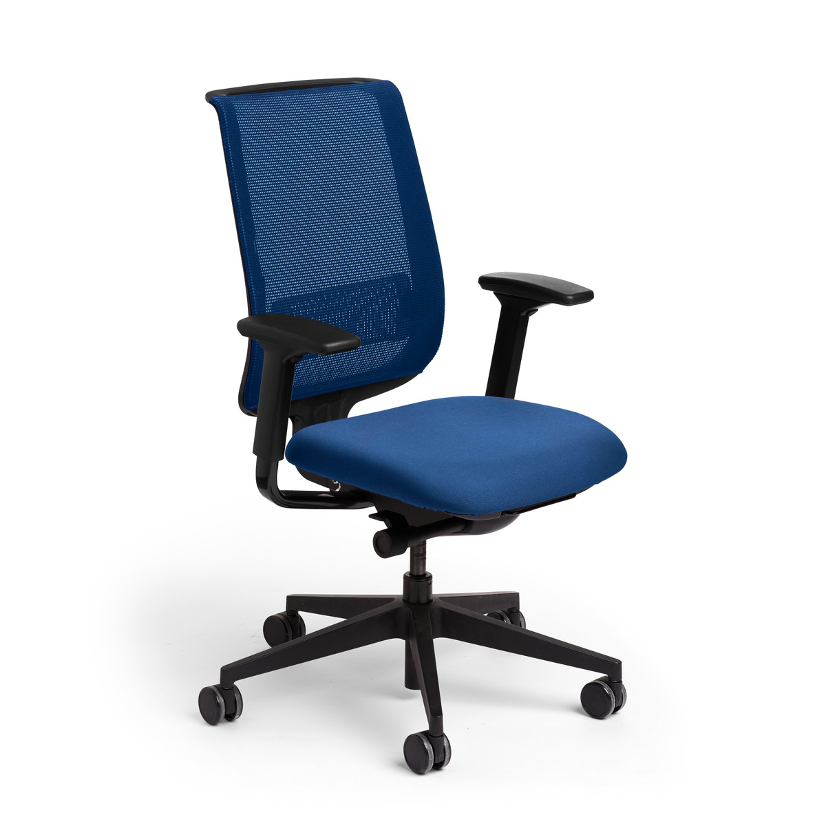 blue reply task chair furniture poppin