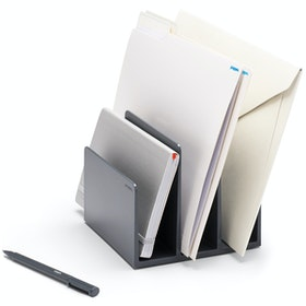 Dark Gray Fin File Sorter