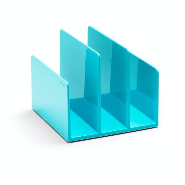 Aqua Fin File Sorter,Aqua,hi-res