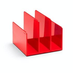 Red Fin File Sorter,Red,hi-res