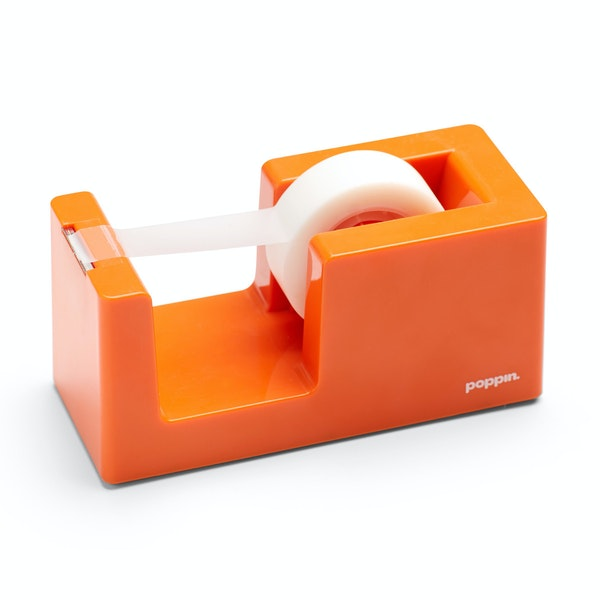 Orange Tape Dispenser,Orange,hi-res