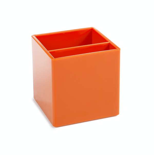 Orange Pen Cup,Orange,hi-res