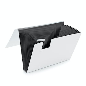 Dark Gray Accordion File