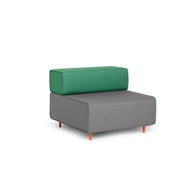 Gray + Grass Block Party Lounge Chair