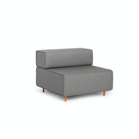 Gray + Gray Block Party Lounge Chair