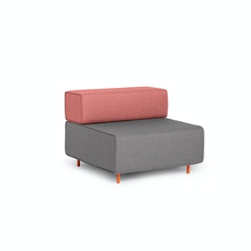 Gray + Rose Block Party Lounge Chair