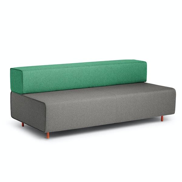 Gray + Grass Block Party Lounge Sofa,Gray,hi-res