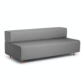 Gray +  Gray Block Party Lounge Sofa,Gray,hi-res