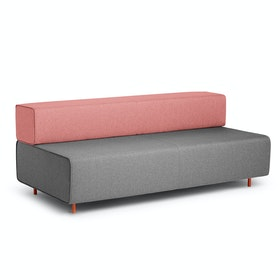 Gray + Rose Block Party Lounge Sofa,Gray,hi-res