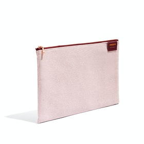 Blush Large Slim Pouch