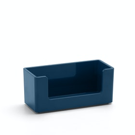 Slate Blue Business Card Holder