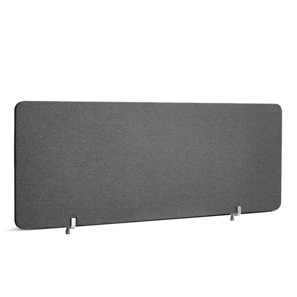 "Dark Gray Fabric Privacy Panel, Face-to-Face, 45"",Dark Gray,hi-res"