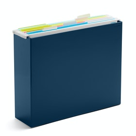 Slate Blue File Box,Slate Blue,hi-res