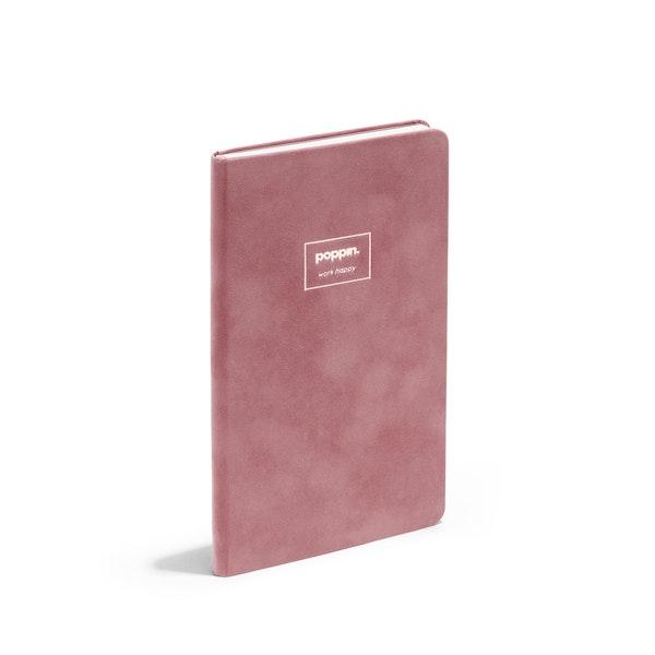 Dusty Rose Velvet Hard Cover Journal,Dusty Rose,hi-res