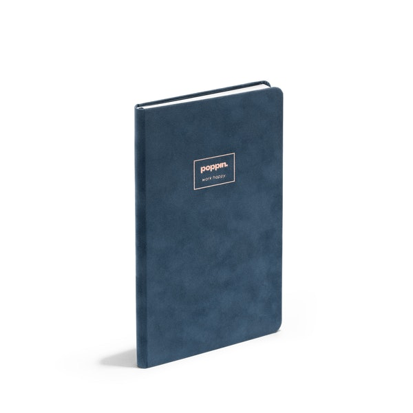 Storm Velvet Hard Cover Journal,Storm,hi-res