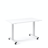 Irons Flip Top Training Table, White Legs,,hi-res