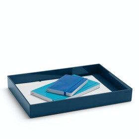 Slate Blue Large Accessory Tray