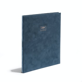 Storm Velvet Large Padfolio with Writing Pad,Storm,hi-res