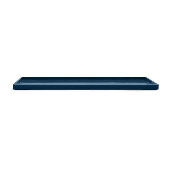 Slate Blue Large Slim Tray,Slate Blue,hi-res