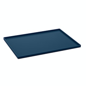 Slate Blue Large Slim Tray
