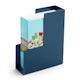 Slate Blue Magazine File Box,Slate Blue,hi-res