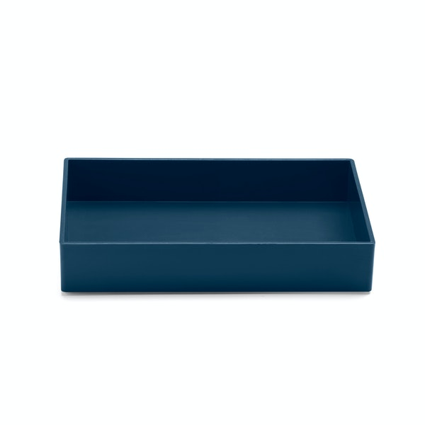 Slate Blue Medium Accessory Tray,Slate Blue,hi-res