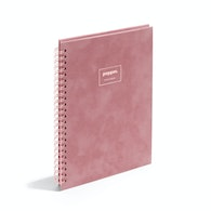 Velvet Medium Spiral Notebook,Dusty Rose,hi-res