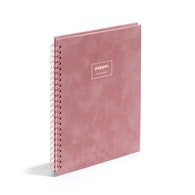Velvet Medium Spiral Notebook,Dusty Rose,hi-res