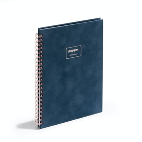 Storm Velvet Medium Spiral Notebook