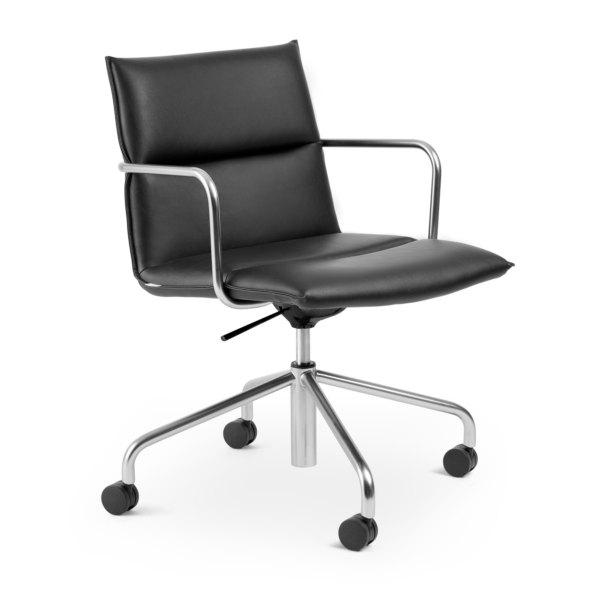 53f09118363 Black Meredith Meeting Chair