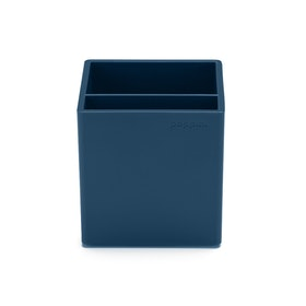 Slate Blue Pen Cup,Slate Blue,hi-res