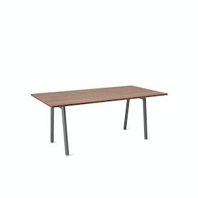 Series A Executive Desk, Charcoal Legs
