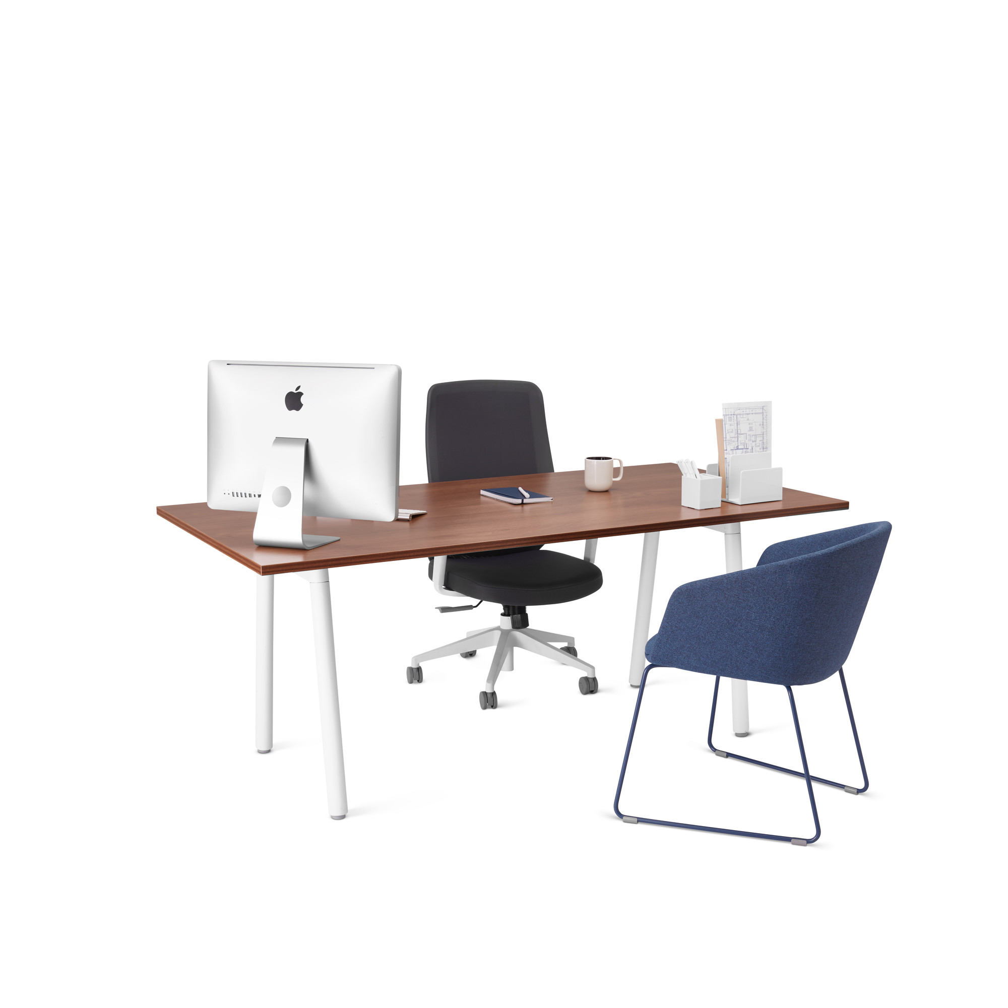 Series A Single Desk for 1, 72x36\