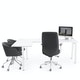 Series A Corner Desk, White with White Base, Left Handed,,hi-res