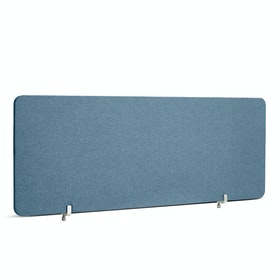 "Slate Blue Pinnable Fabric Privacy Panel, 45 x 17.5"", Endcap"