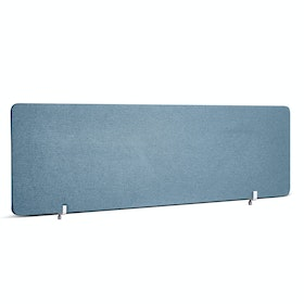 Slate Blue Fabric Privacy Panel, End Cap, 55""