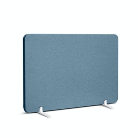 Pinnable Fabric Privacy Panel, Footed