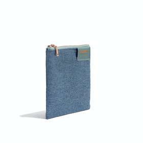 Slate Blue Medium Cord Pouch