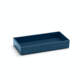 Slate Blue Small Accessory Tray